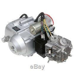 125cc Engine 3 + 1 Semi auto Electrical Start Motor ATV Quad Bike Motorbikes