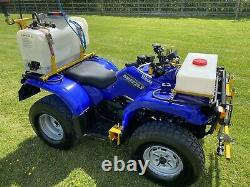 2008 Yamaha Grizzly 350 Quad Bike Atv Fitted With Vale Sprayer Unit