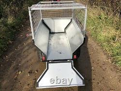 ATV Quad Bike General purpose, Logging, Tipper Trailers with Extendable Sides