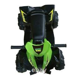Kids 12V ATV Electric Ride On Quad Bike With Handgrips & Rechargeable Battery