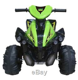 Kids Electric ATV Outdoor Ride On 12V Rechargeable Powered Battery Quad Wheels
