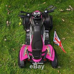 RiiRoo Kids Ride On ATV Quad Bike Electric Childrens 12V Battery Toy Car Scooter