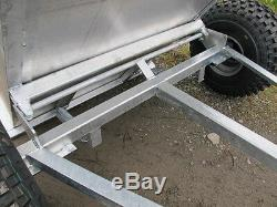 Tipping trailer for ATV Quad bike, compact tractor
